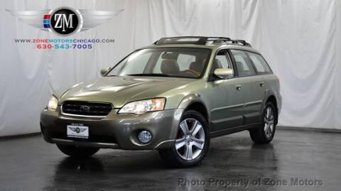 2006 Subaru Outback for sale at ZONE MOTORS in Addison IL