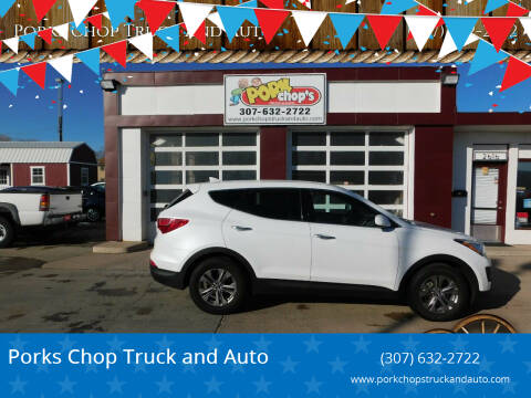 2014 Hyundai Santa Fe Sport for sale at Pork Chops Truck and Auto in Cheyenne WY