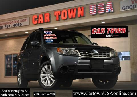 2013 Subaru Forester for sale at Car Town USA in Attleboro MA