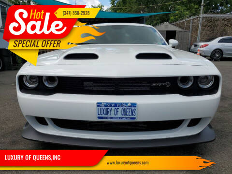 2020 Dodge Challenger for sale at LUXURY OF QUEENS,INC in Long Island City NY