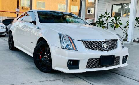 2014 Cadillac CTS-V for sale at Pro Motorcars in Anaheim CA