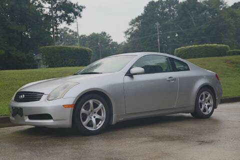 2005 Infiniti G35 for sale at Alpha Auto Solutions in Acworth GA