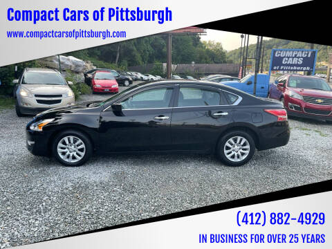 2013 Nissan Altima for sale at Compact Cars of Pittsburgh in Pittsburgh PA