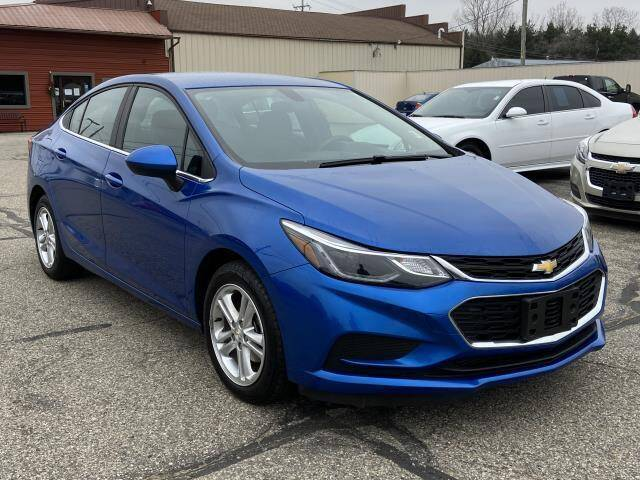 2018 Chevrolet Cruze for sale at Miller Auto Sales in Saint Louis MI