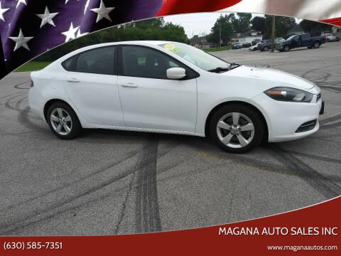 2016 Dodge Dart for sale at Magana Auto Sales Inc in Aurora IL