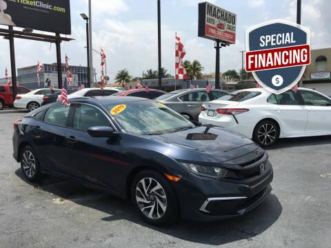 2019 Honda Civic for sale at MACHADO AUTO SALES in Miami FL
