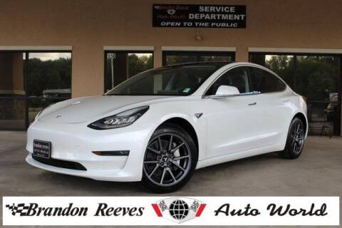 2020 Tesla Model 3 for sale at Brandon Reeves Auto World in Monroe NC