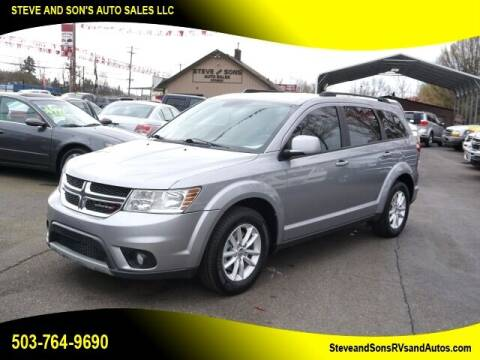2015 Dodge Journey for sale at Steve & Sons Auto Sales in Happy Valley OR