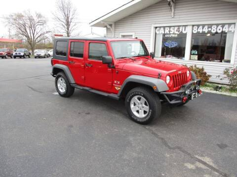 2009 Jeep Wrangler Unlimited for sale at Cars 4 U in Liberty Township OH