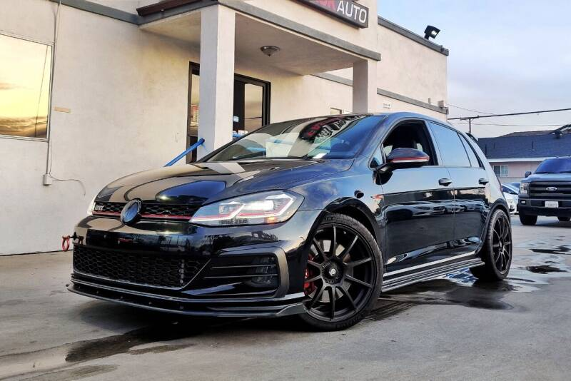 2018 Volkswagen Golf GTI for sale at Fastrack Auto Inc in Rosemead CA