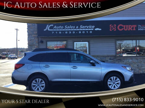 2018 Subaru Outback for sale at JC Auto Sales & Service in Eau Claire WI
