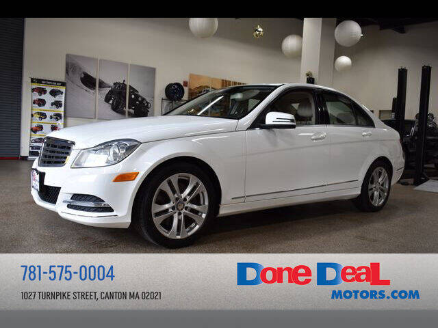 2013 Mercedes-Benz C-Class for sale at DONE DEAL MOTORS in Canton MA