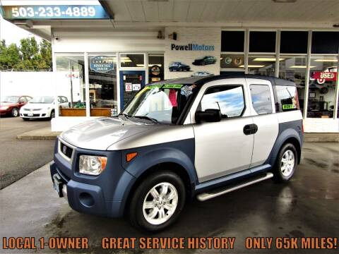 2006 Honda Element for sale at Powell Motors Inc in Portland OR