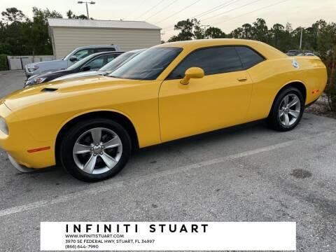 2018 Dodge Challenger for sale at Infiniti Stuart in Stuart FL