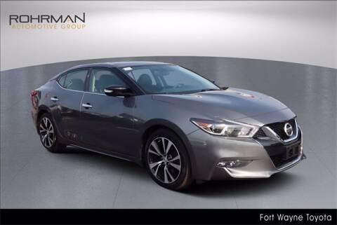 2018 Nissan Maxima for sale at BOB ROHRMAN FORT WAYNE TOYOTA in Fort Wayne IN