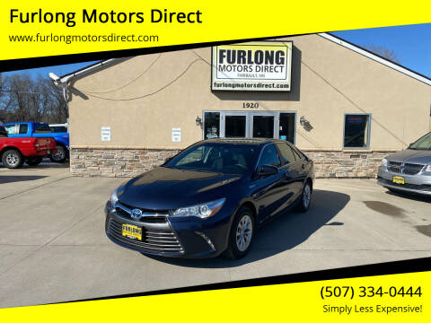 2016 Toyota Camry Hybrid for sale at Furlong Motors Direct in Faribault MN