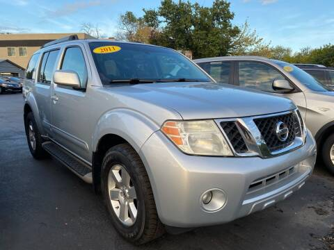 2011 Nissan Pathfinder for sale at WOLF'S ELITE AUTOS in Wilmington DE