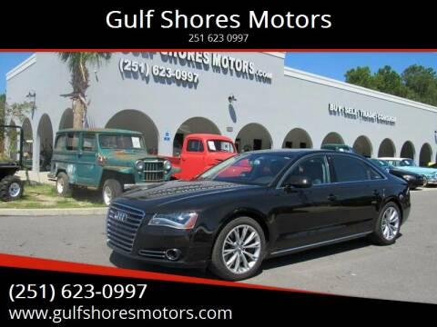 2012 Audi A8 L for sale at Gulf Shores Motors in Gulf Shores AL