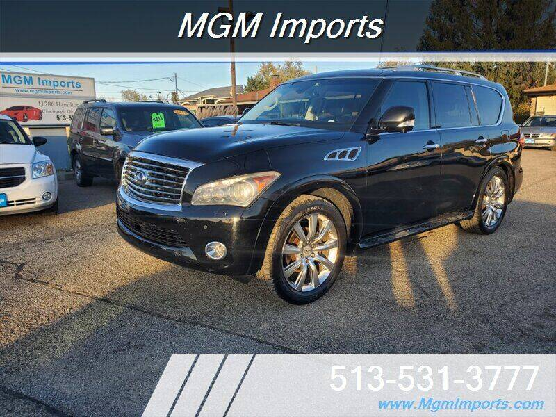 2011 Infiniti QX56 for sale at MGM Imports in Cincannati OH