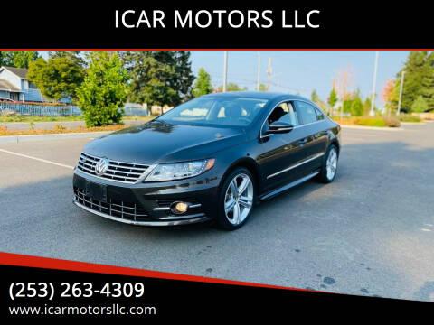 2013 Volkswagen CC for sale at ICAR MOTORS LLC in Federal Way WA
