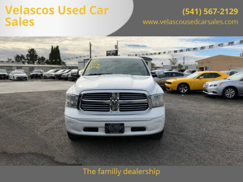 2013 RAM Ram Pickup 1500 for sale at Velascos Used Car Sales in Hermiston OR