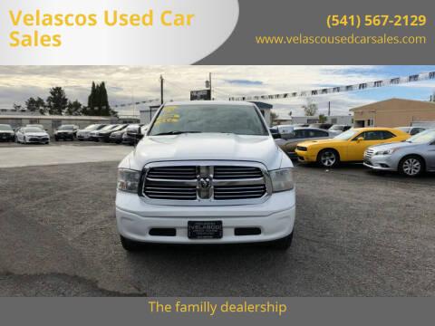 2013 RAM Ram Pickup 1500 for sale at Velascos Used Car Sales in Hermiston OR