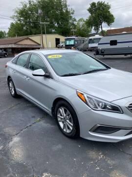2016 Hyundai Sonata for sale at KLEIN MOTORS & RV's in Saint Joseph MO