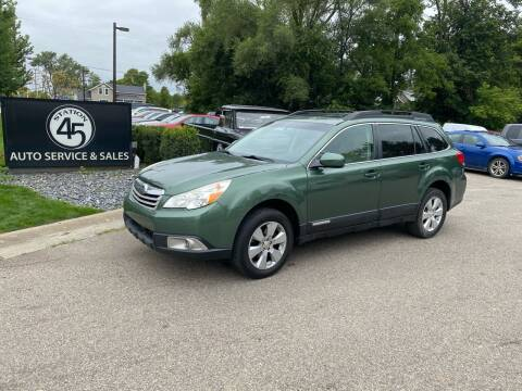2010 Subaru Outback for sale at Station 45 Auto Sales Inc in Allendale MI