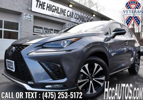 2018 Lexus NX 300 for sale at The Highline Car Connection in Waterbury CT