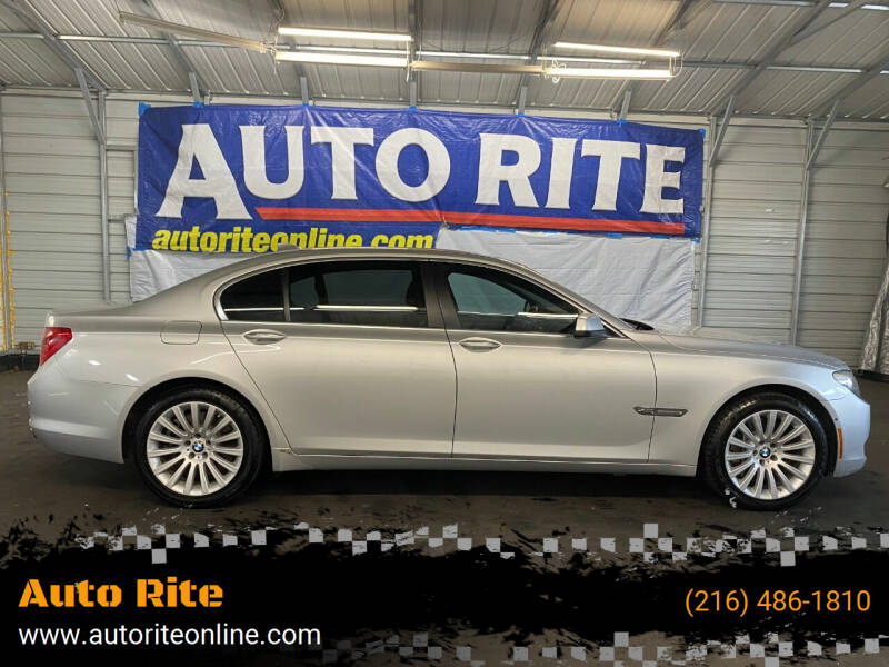2012 BMW 7 Series for sale at Auto Rite in Cleveland OH