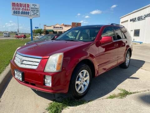 2008 Cadillac SRX for sale at MARLER USED CARS in Gainesville TX