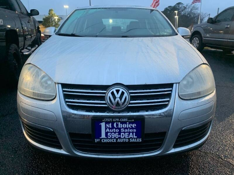 2009 Volkswagen Jetta for sale at 1st Choice Auto Sales in Newport News VA