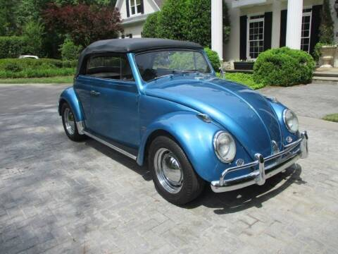 1963 Volkswagen Beetle Convertible for sale at Classic Investments in Marietta GA