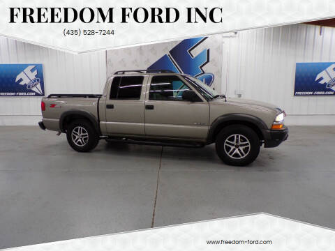 2003 Chevrolet S-10 for sale at Freedom Ford Inc in Gunnison UT