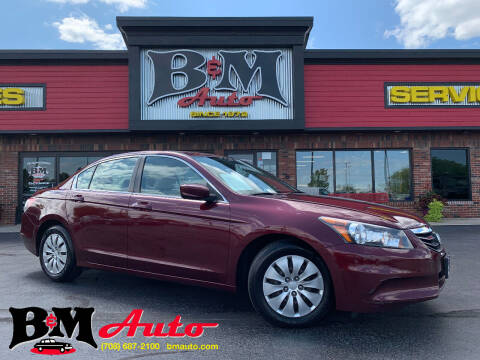 2012 Honda Accord for sale at B & M Auto Sales Inc. in Oak Forest IL