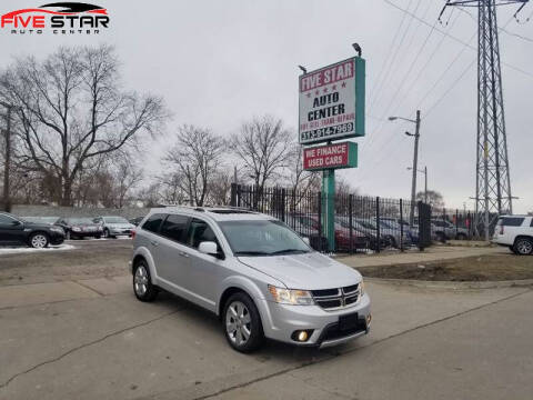 2012 Dodge Journey for sale at Five Star Auto Center in Detroit MI