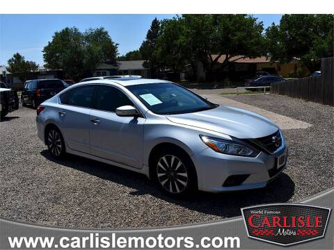 2016 Nissan Altima for sale at Carlisle Motors in Lubbock TX