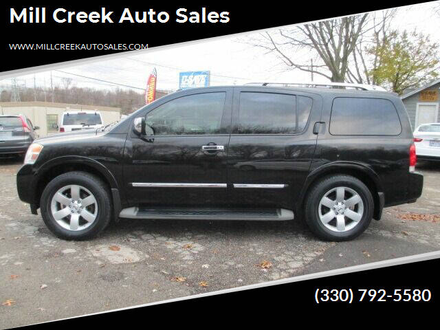 2010 Nissan Armada for sale at Mill Creek Auto Sales in Youngstown OH