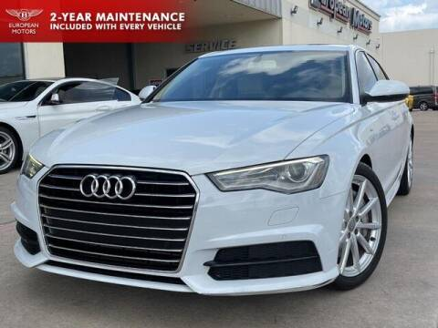 2017 Audi A6 for sale at European Motors Inc in Plano TX