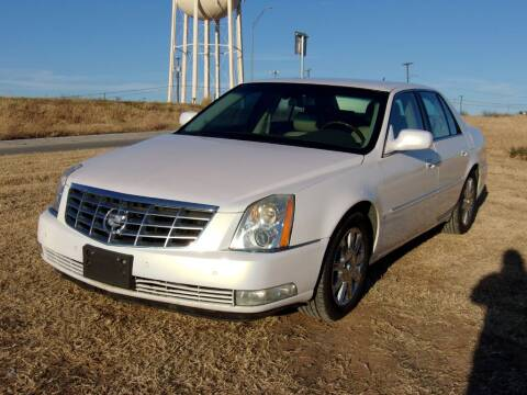 2006 Cadillac DTS for sale at Brannan Auto Sales in Gainesville TX