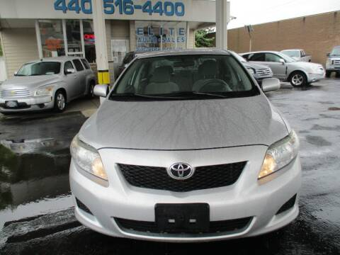 2010 Toyota Corolla for sale at Elite Auto Sales in Willowick OH