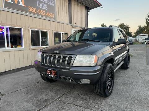 2002 Jeep Grand Cherokee for sale at M & A Affordable Cars in Vancouver WA