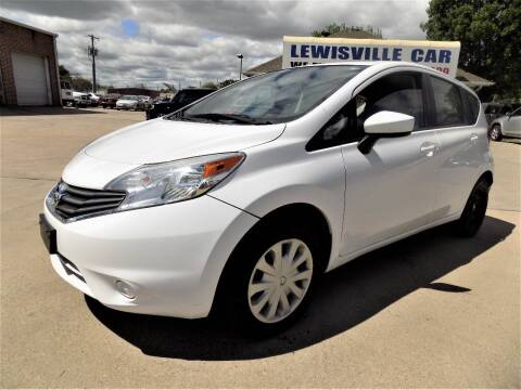 2016 Nissan Versa Note for sale at Lewisville Car in Lewisville TX