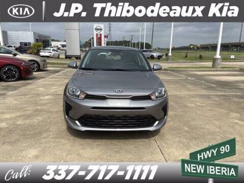 2021 Kia Rio 5-Door for sale at J P Thibodeaux Used Cars in New Iberia LA
