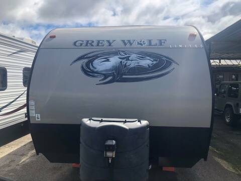 2018 FOR SALE/ RENT 2018 GREYWOLF!! 26DJSE for sale at S & R RV Sales & Rentals, LLC in Marshall TX