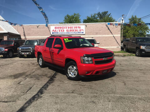 2007 Chevrolet Avalanche for sale at Brothers Auto Group in Youngstown OH