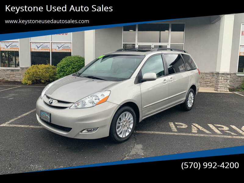 2008 Toyota Sienna for sale at Keystone Used Auto Sales in Brodheadsville PA