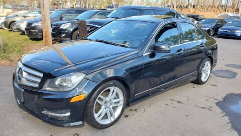 2013 Mercedes-Benz C-Class for sale at GA Auto IMPORTS  LLC in Buford GA