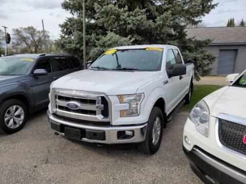2015 Ford F-150 for sale at Clare Auto Sales, Inc. in Clare MI