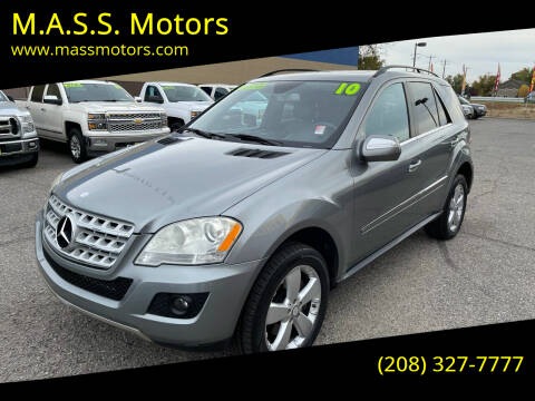 2010 Mercedes-Benz M-Class for sale at M.A.S.S. Motors in Boise ID
